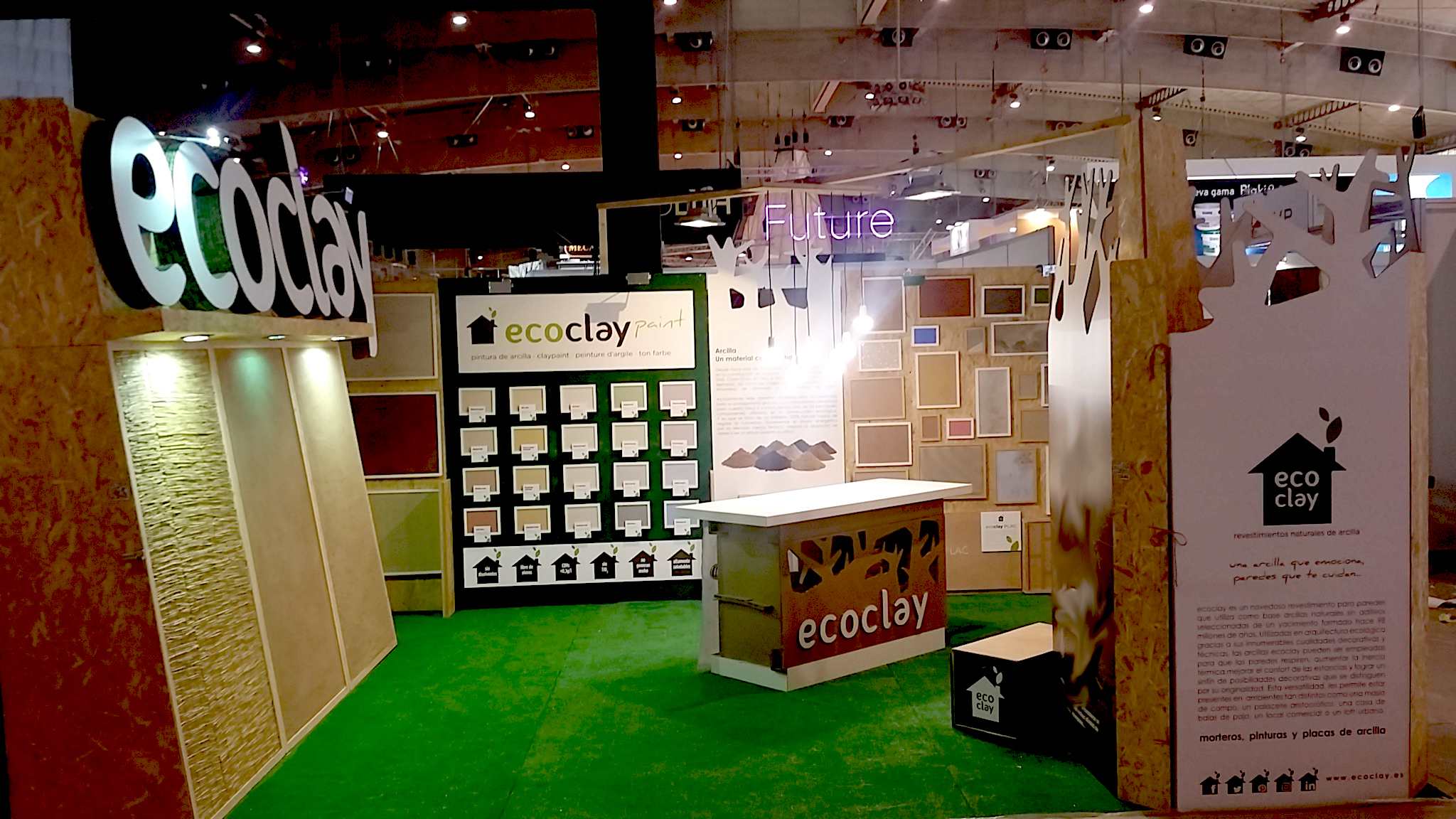 FOTO STAND ECOCLAY