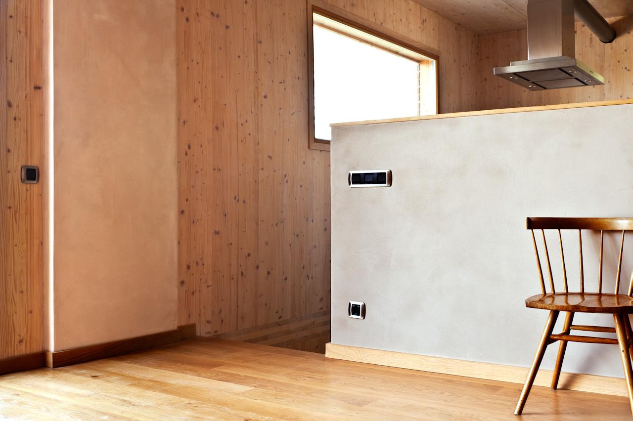 ecoclay casa LM, ecoclaySYSTEM, mortero de arcilla
