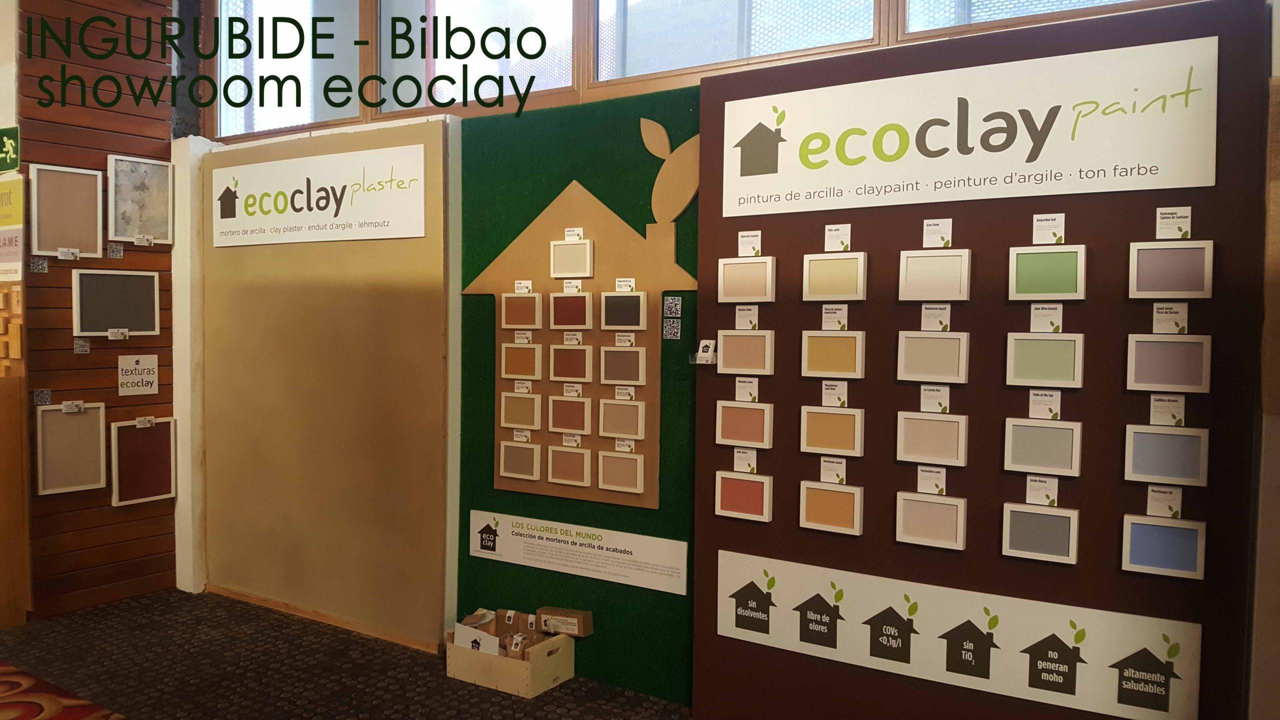 ingurubide bilbao ecoclay showroom